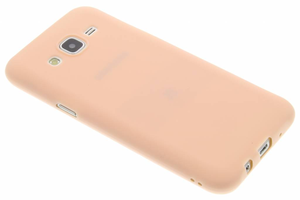 Poederroze Color TPU hoesje voor de Samsung Galaxy J5