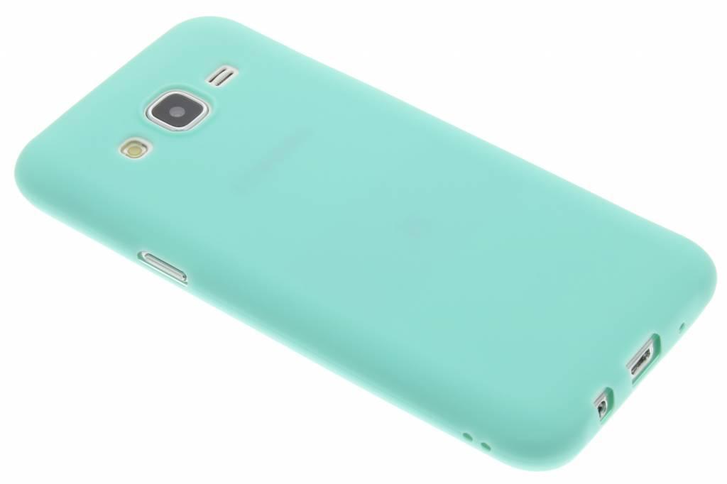 Mintgroen Color TPU hoesje voor de Samsung Galaxy J5