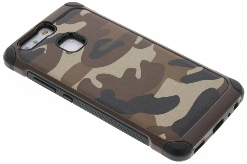 Bruin army defender hardcase hoesje voor de Huawei P9