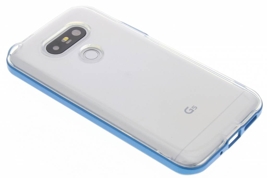 Blauwe bumper TPU case voor de LG G5 (SE)