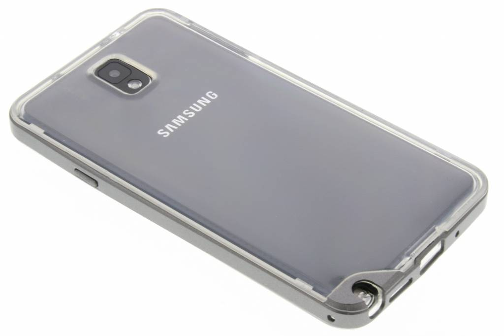 Grijze bumper TPU case voor de Samsung Galaxy Note 3