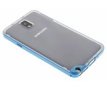 Blauw bumper TPU case Samsung Galaxy Note 3