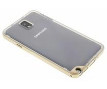 Goud bumper TPU case Samsung Galaxy Note 3