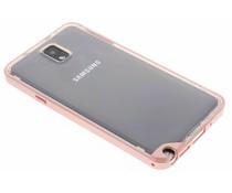 Roze bumper TPU case Samsung Galaxy Note 3