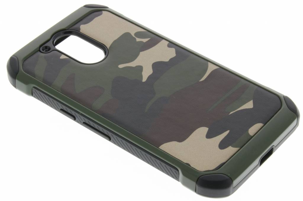 Groene army defender hardcase hoesje Motorola Moto G4 (Plus)