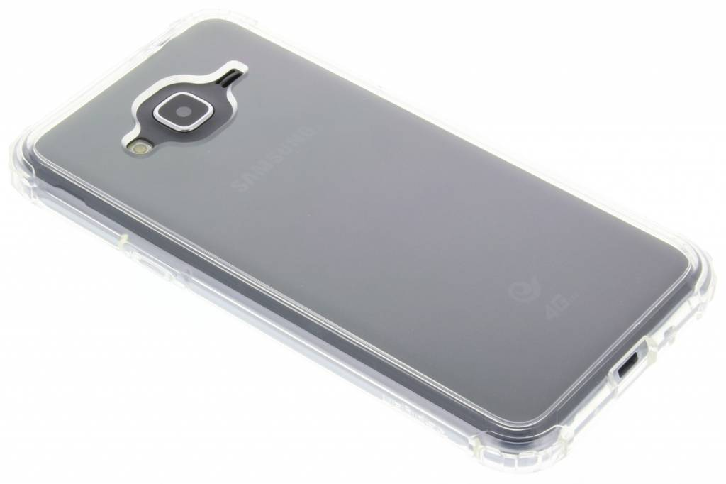 Spigen Crystal Shell Case voor de Samsung Galaxy J3 / J3 (2016) - Crystal Clear