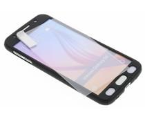 Zwart 360° effen protect case Galaxy S6