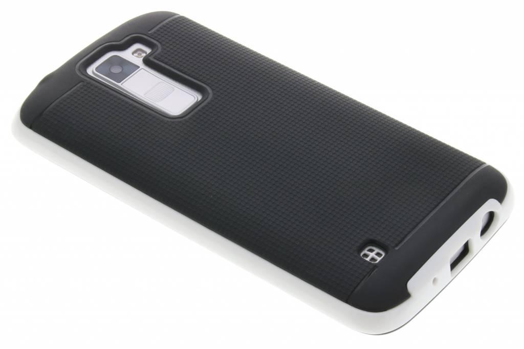 Witte TPU protect case voor de LG K8