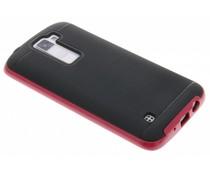 Fuchsia TPU protect case LG K8
