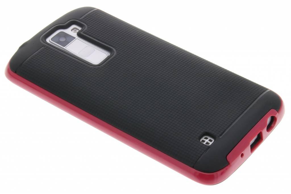 Fuchsia TPU protect case voor de LG K8