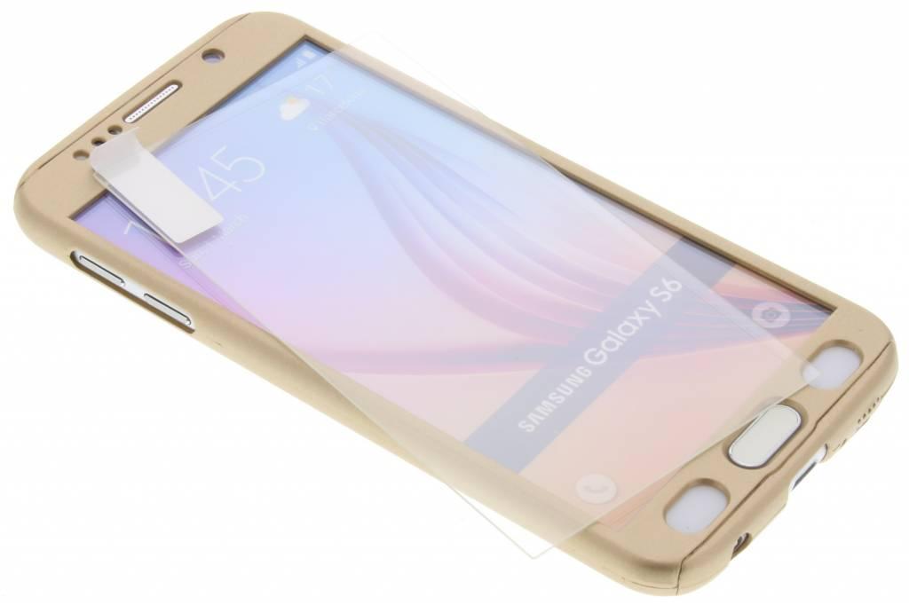 Gouden 360° effen protect case voor de Samsung Galaxy S6