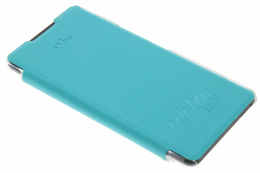 Wiko Folio Back Cover voor de Wiko Rainbow Lite 4G - Blauw