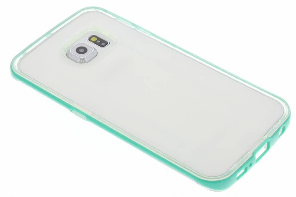 Groene bumper TPU case voor de Samsung Galaxy S6 Edge