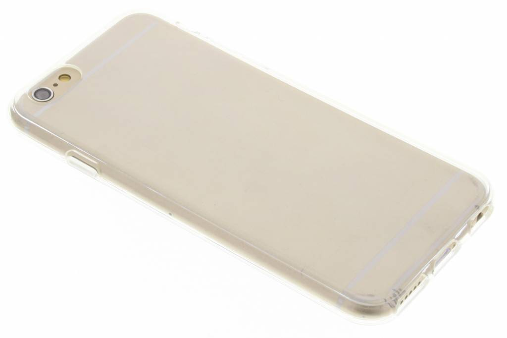 Image of TPU Clear Cover + Glass Protector voor de iPhone 6 / 6s