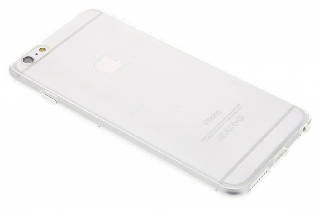Image of TPU Clear Cover + Glass Protector voor de iPhone 6(s) Plus