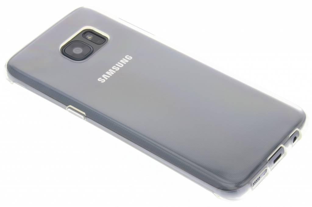 Accezz TPU Clear Cover + Glass Protector voor de Samsung Galaxy S7 Edge