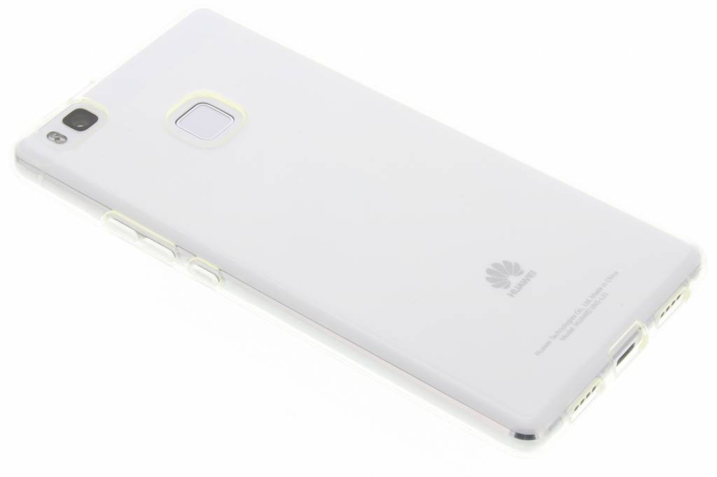 Image of TPU Clear Cover + Glass Protector voor de Huawei P9 Lite