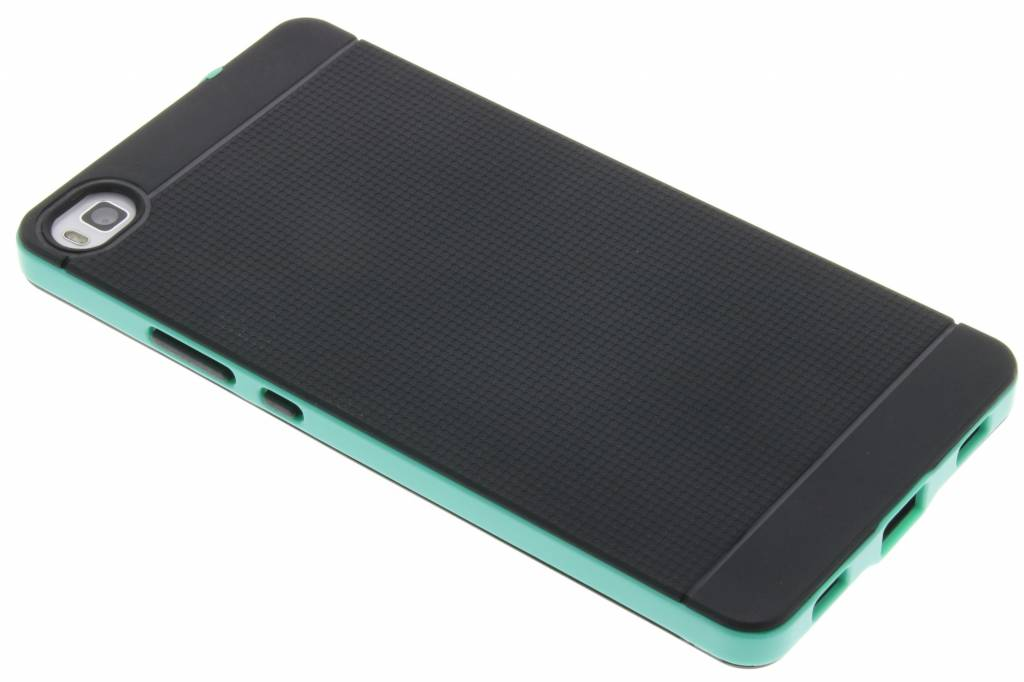 Mintgroene TPU Protect case voor de Huawei P8
