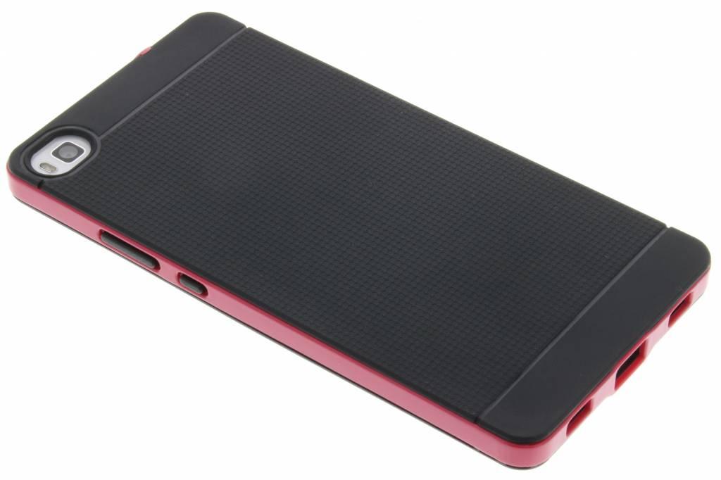 Fuchsia TPU Protect case voor de Huawei P8