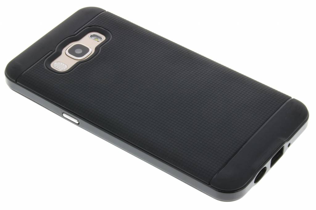 Zwarte TPU protect case voor de Samsung Galaxy J5 (2016)