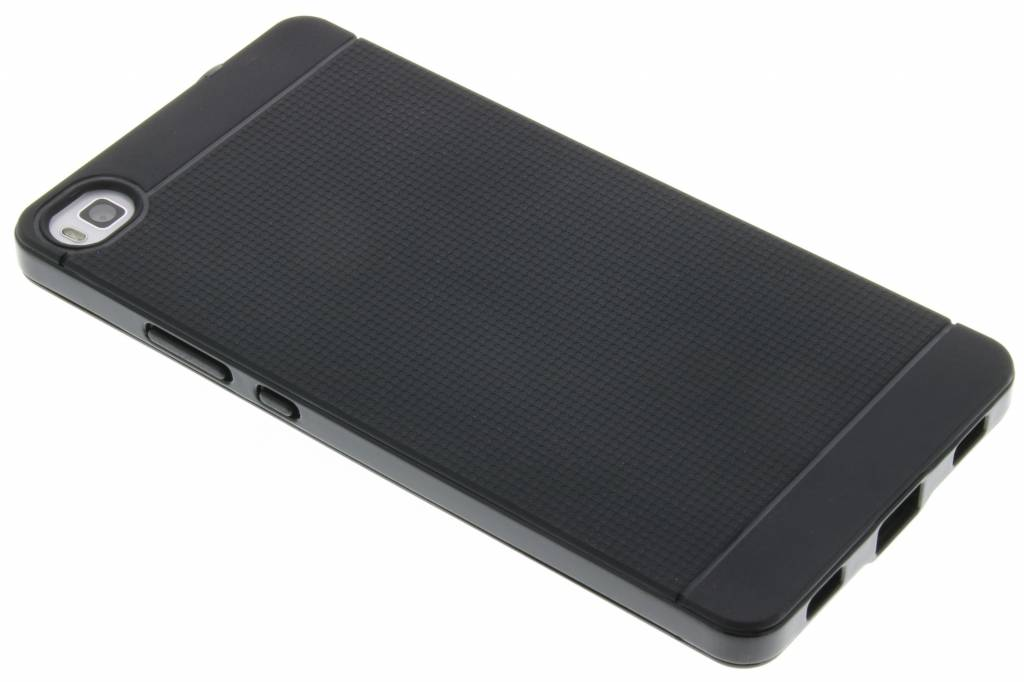 Zwarte TPU Protect case voor de Huawei P8