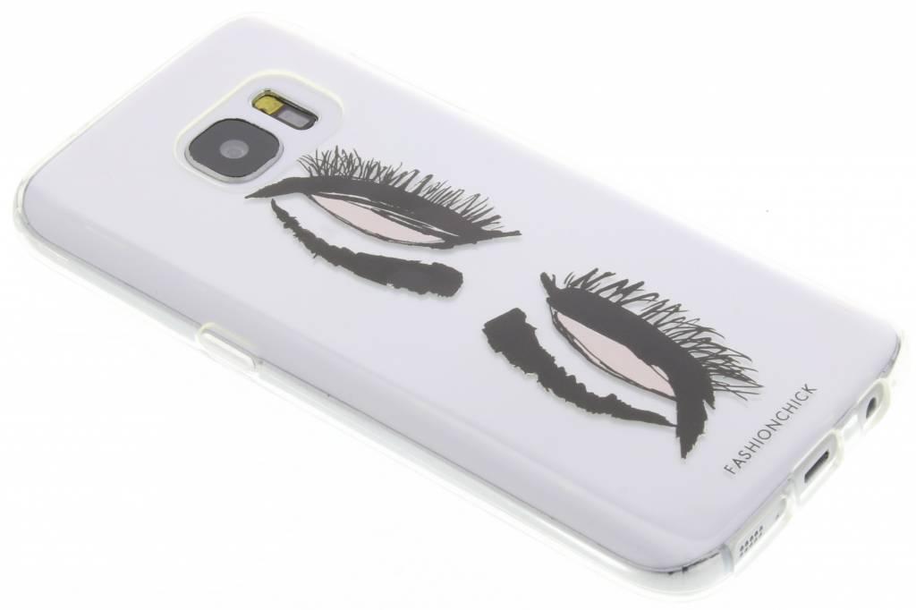 Fashionchick Eyes Softcase voor de Samsung Galaxy S7