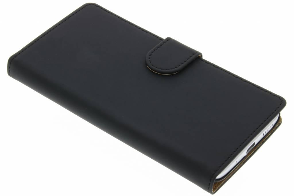 Zwarte effen booktype hoes voor de HTC 10