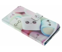 Design TPU booktype hoes Wiko Fever 4G