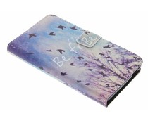 Design TPU booktype hoes Wiko Pulp 4G
