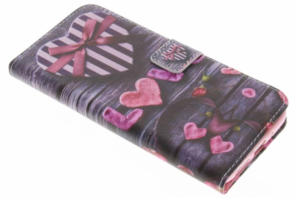 Love design TPU booktype hoes voor de LLG G5 (SE)