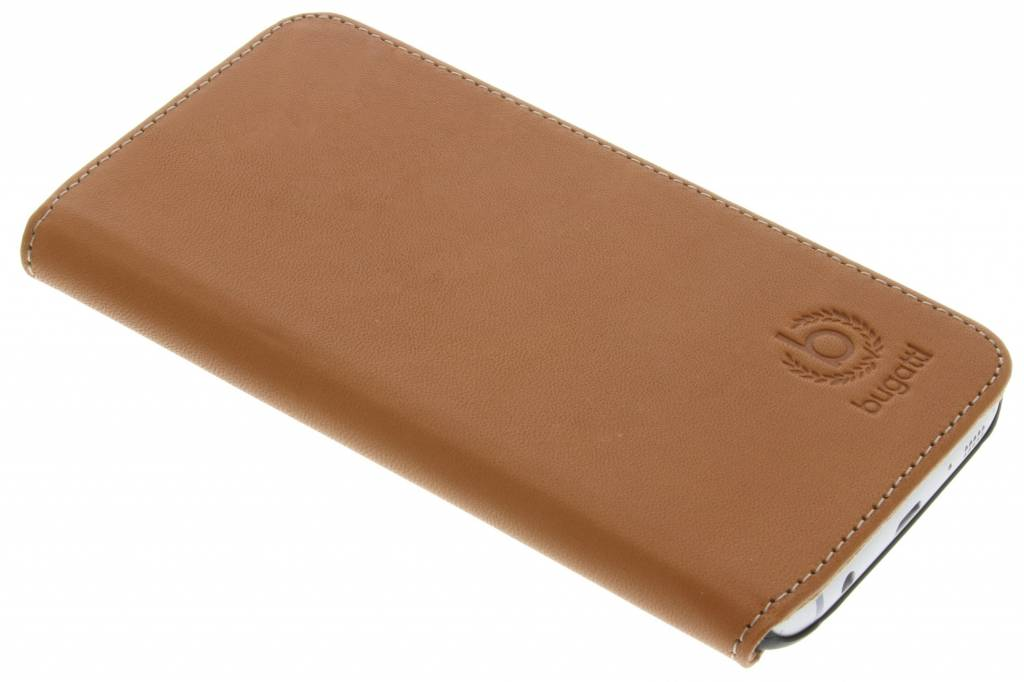 Bugatti BookCover voor de Samsung Galaxy S7 - Cognac
