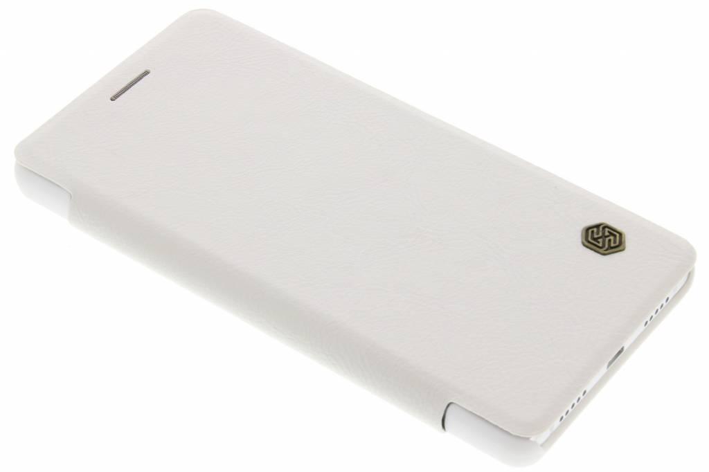 Nillkin Qin Leather slim booktype hoes voor de Huawei P9 Lite - Wit