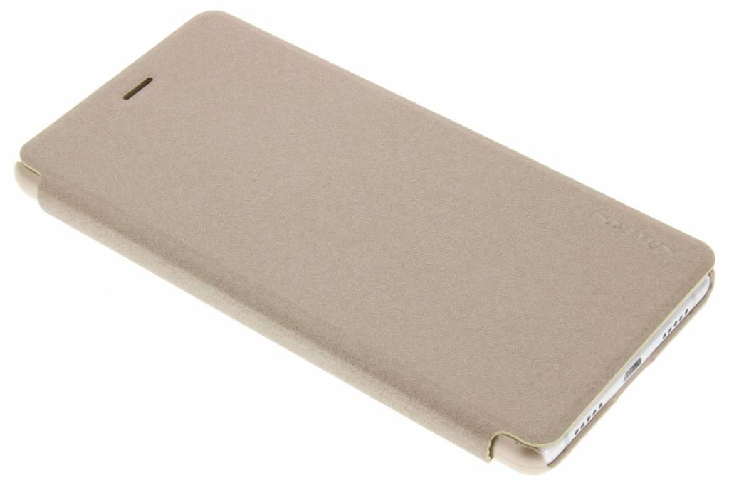 Nillkin Sparkle slim booktype hoes voor de Huawei P9 Lite - Goud