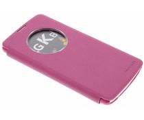 Nillkin Sparkle slim booktype hoes LG K8 - Roze