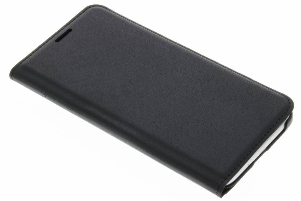 Zwarte luxe flipcover voor de Samsung Galaxy J3 / J3 (2016)
