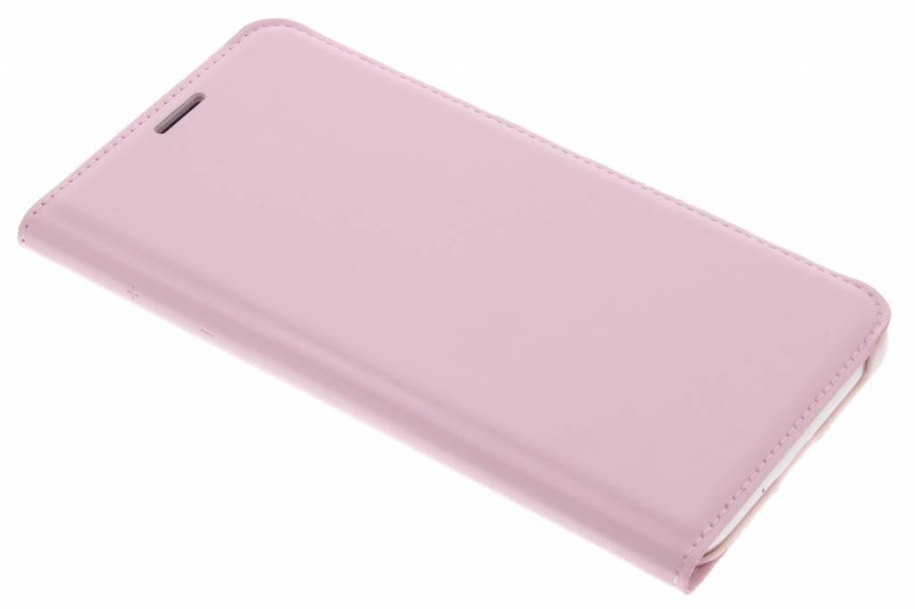 Roze luxe flipcover voor de Samsung Galaxy J3 / J3 (2016)