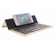 Foldable Bluetooth Keyboard - Goud