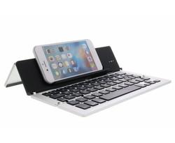 Foldable Bluetooth Keyboard - Zilver