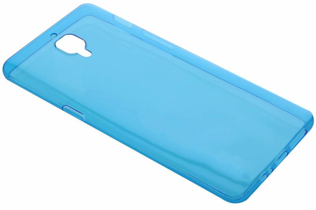 Blauw ultra thin transparant TPU hoesje voor de OnePlus 3 / 3T