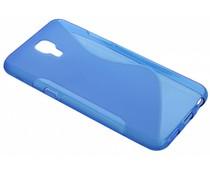 Blauw S-line TPU hoesje LG X Screen