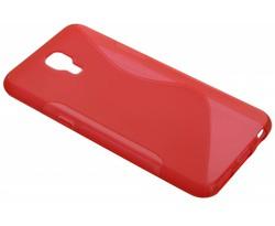 Rood S-line TPU hoesje LG X Screen