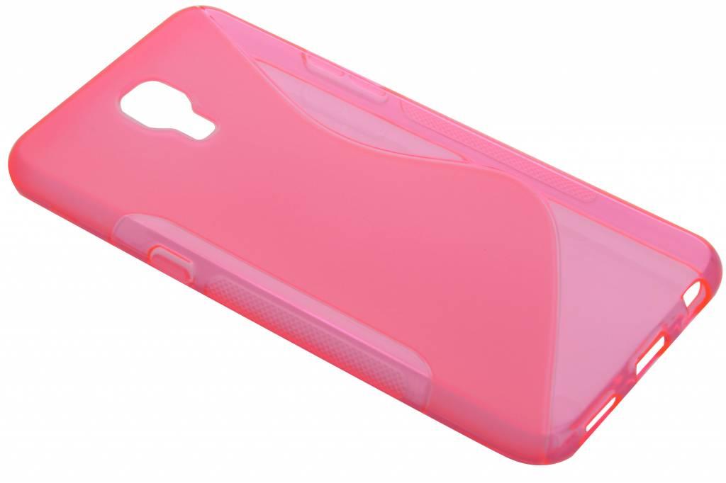 Rosé S-line TPU hoesje voor de LG X Screen