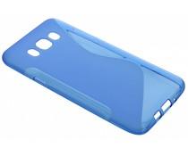 Blauw S-line TPU hoesje Samsung Galaxy J7 (2016)