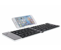 Foldable Bluetooth Keyboard met standaard - Zilver