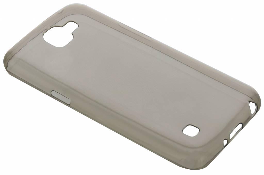Grijs ultra thin transparant TPU hoesje voor de LG K4