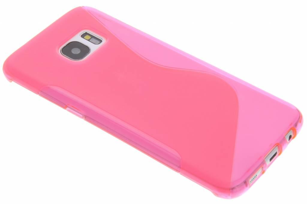 Rosé S-line TPU hoesje voor de Samsung Galaxy S7 Edge