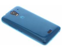 Blauw ultra thin transparant TPU hoesje Huawei Y360