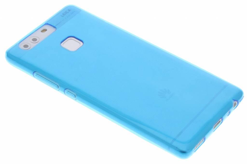 Blauw ultra thin transparant TPU hoesje voor de Huawei P9