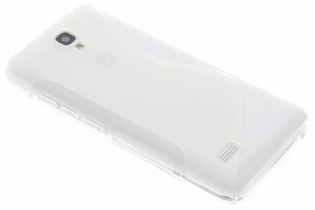 Transparant S-line TPU hoesje voor de Huawei Y5