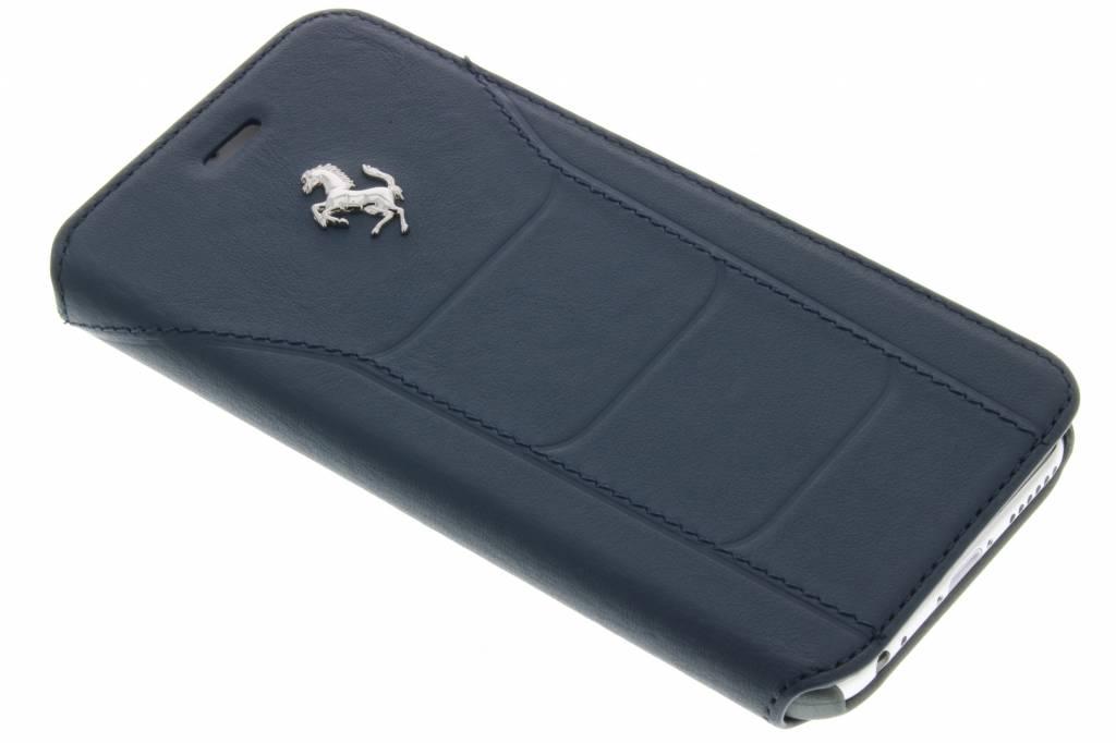 Ferrari Leather Booktype Case voor de iPhone 6 / 6s - Donkerblauw